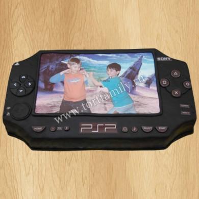 Торт игровая приставка PSP