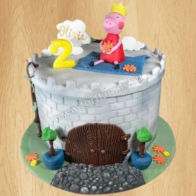 Торт со Свинкой Пеппой