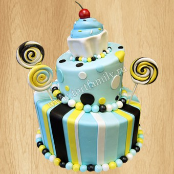 Торт №: D563