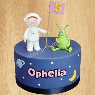 Торт дочке на 5 лет