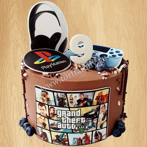 Торт PlayStation Portable