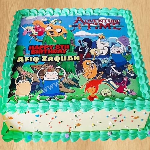 Двухъярусный торт Время приключений