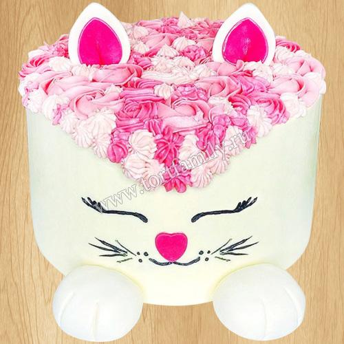 Детский торт с кошками