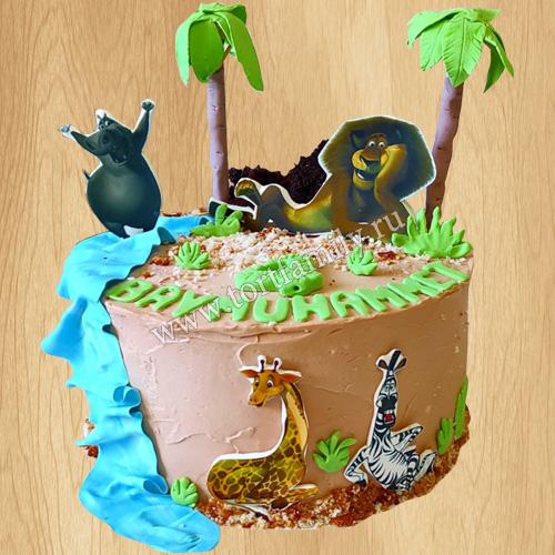 Торт в стиле Мадагаскар