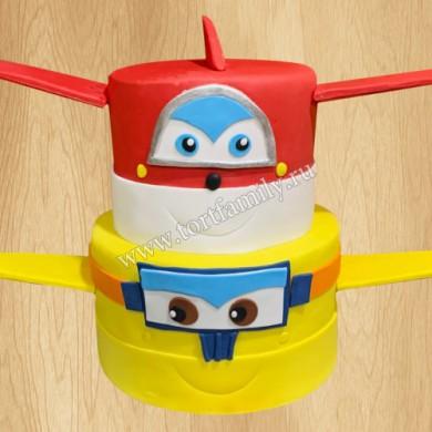 Торт самолетики в небе