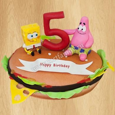 Торт для ребенка 5 лет