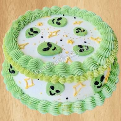 Торт с НЛО