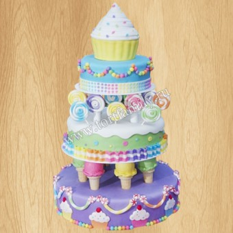 Торт №: D696