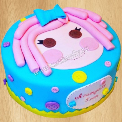 Торт Лалалупси для девочки