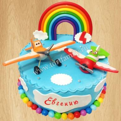 Детский торт с Дасти