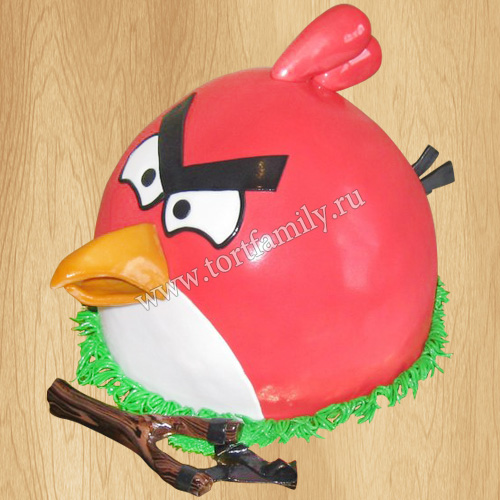 Торт птица Ред Энгри Бердз