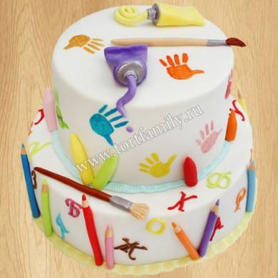 Торт Живопись