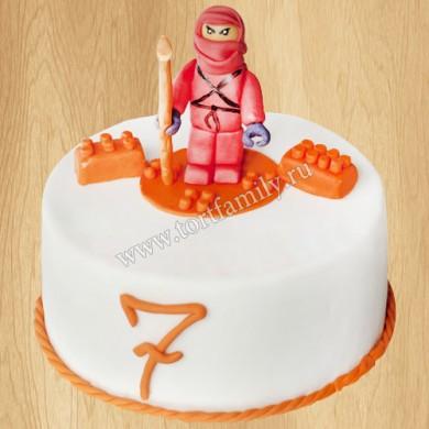 Торт лего для мальчика 7 лет