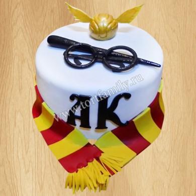 Торт с тематикой Гарри Поттера
