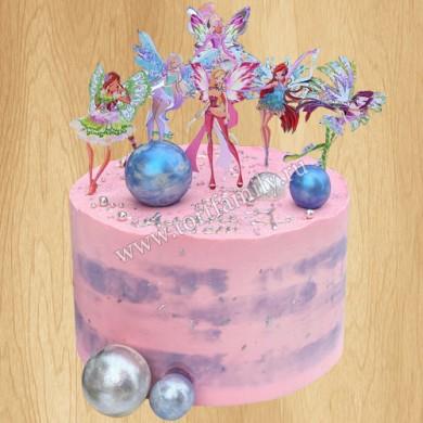 Торт Винкс на день рождения девочке
