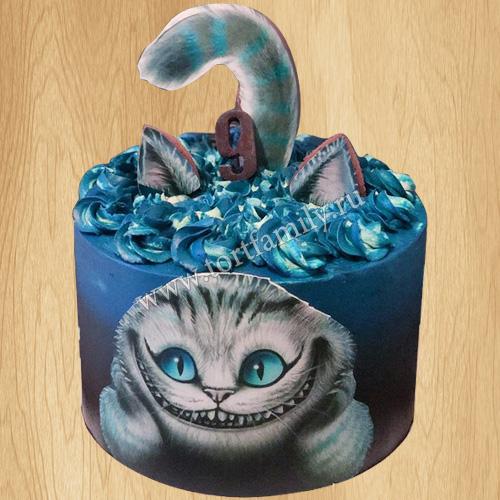 Детский торт кот