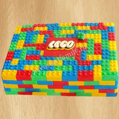 Торт конструктор Лего