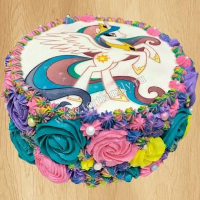 Торт пони Принцесса Селестия