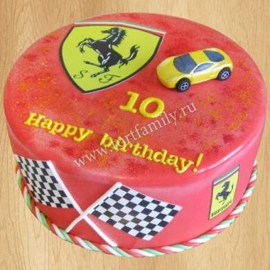 Фанату гоночной команды Ferrari