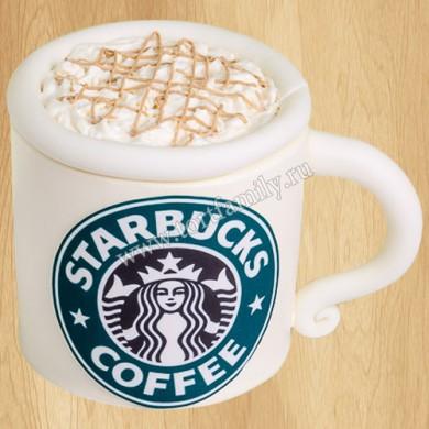 Торт чашка Starbucks