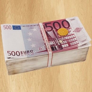 Торт Пачка Евро