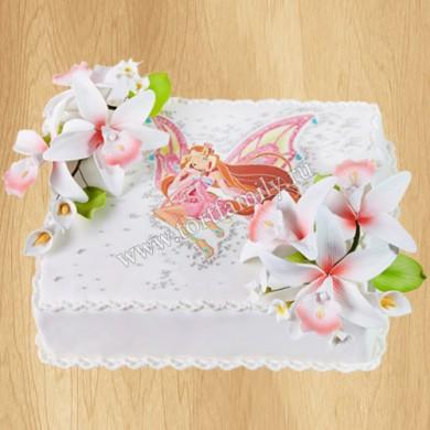 Торт Винкс на день рождения