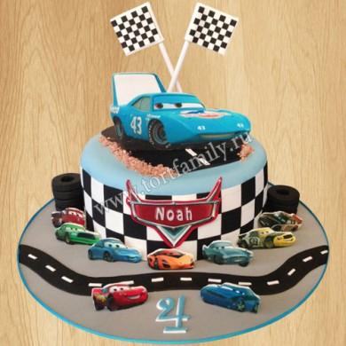 Торт машина для мальчика 4 года
