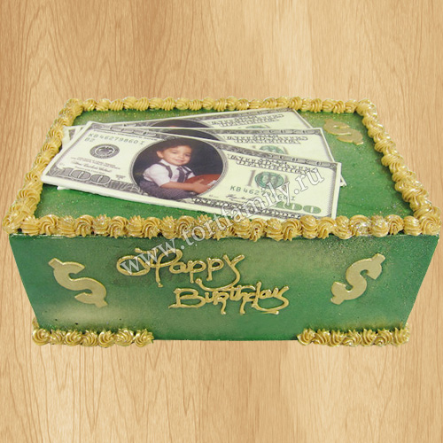 Торт Именной доллар