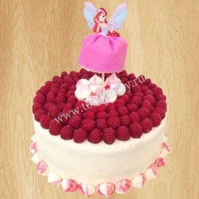 Торт Винкс Блум