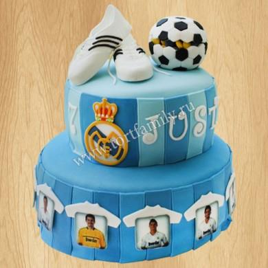 Торт для болельщика Реал Мадрид