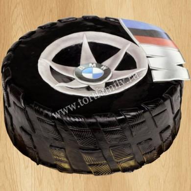 Торт колесо БМВ