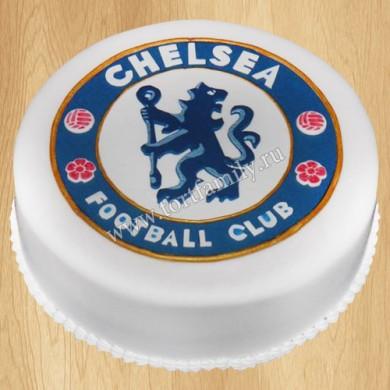 Торт с эмблемой Челси