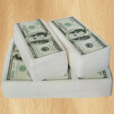 Торт с деньгами для банка
