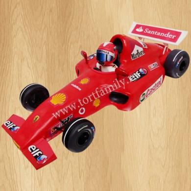 Торт гоночный автомобиль Феррари