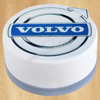 Торт значок Volvo