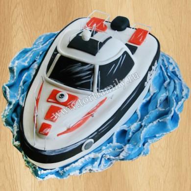 Торт катер
