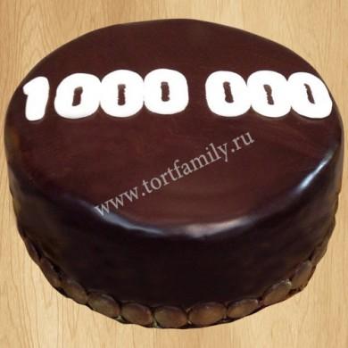 Торт на миллион подписчиков