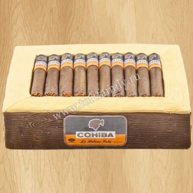 Торт коробка сигар