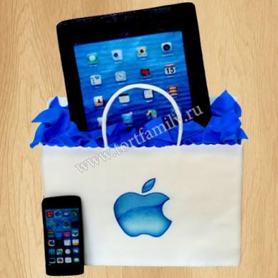 Торт с iPhone и iPad