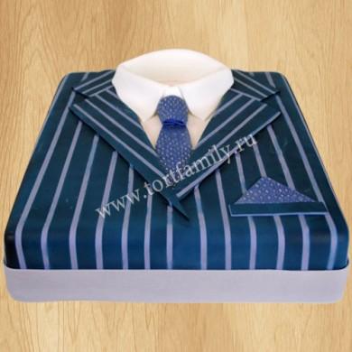 Торт в виде рубашки