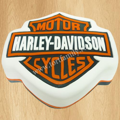 Торт Harley-Davidson