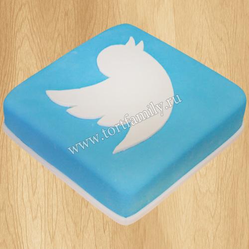Торт Твиттер