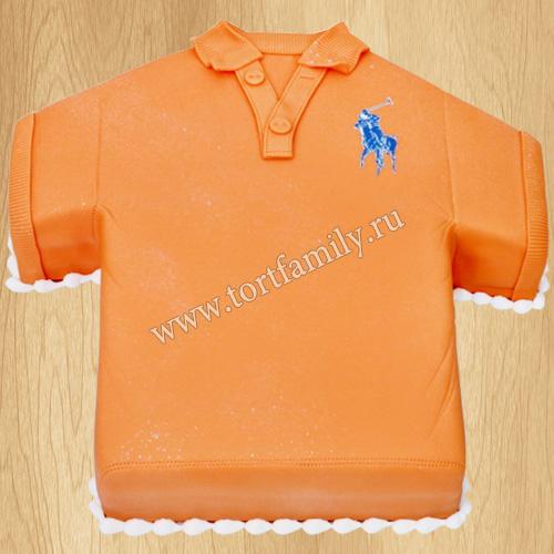 Торт мужчине рубашка