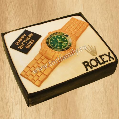 Торт часы для мужчины