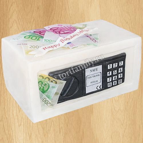 Торт сейф с деньгами