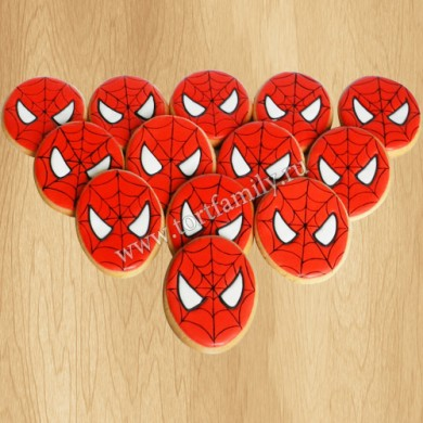Пряники Человек-паук