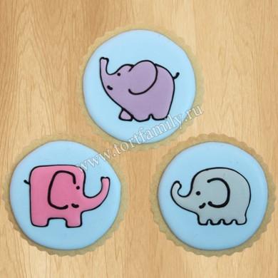 Пряники слоны
