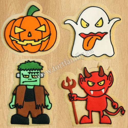 Пряники на Хэллоуин