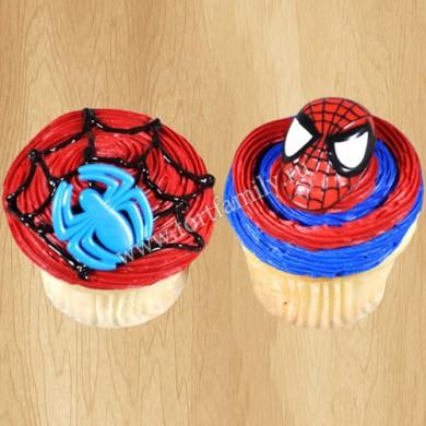 Капкейки Человек-паук