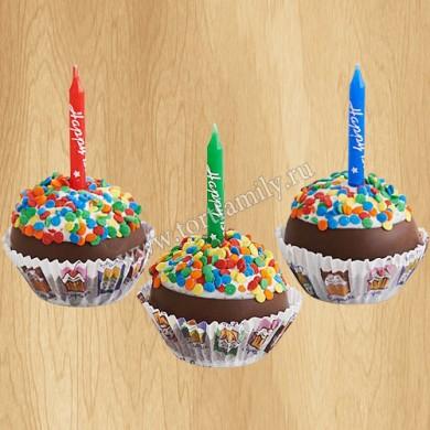 Капкейки на день рождения 1 год